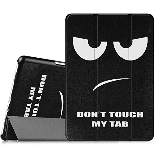 "Fintie Samsung Galaxy Tab A 9.7 Étui Housse - Slim Fit PU Cuir Coque Case Cover ave Fonction Sommeil/Réveil Automatique pour Samsung Galaxy Tab A Tablette 9,7"" SM-T550 / T555, Don't Touch"