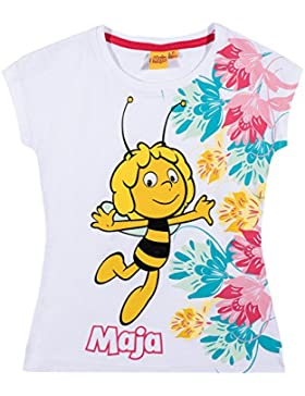 Biene Maja Mädchen T-Shirt - weiß