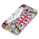 deinPhone Coque de protection en silicone rigide pour Nokia Lumia 630 Monuments de Londres/drapeau britannique