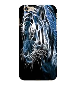 ColourCraft Creative Tiger Image Design Back Case Cover for APPLE IPHONE 6S PLUS