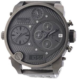 Reloj Diesel DZ7247 y digital de cuarzo para hombre con correa de acero inoxidable, color gris de DIESEL