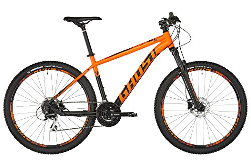 Ghost Kato 3.9, bicicletta MTB in alluminio da 29', colore arancione fluo e nero notte,, neon orange / night black, S