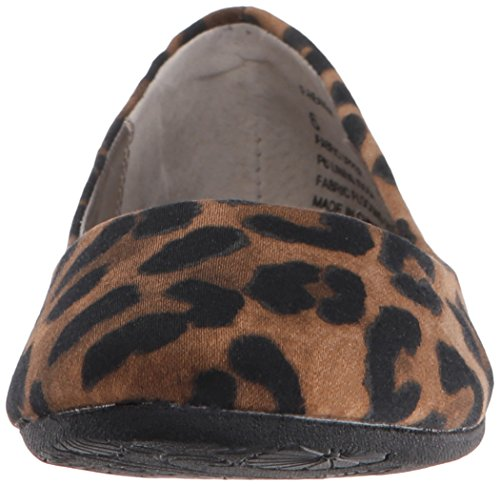 Steve Madden 'p-cielo' Ballerine Patent Leather Leopard Fabric