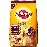 Pedigree Adult Dog Food Meat & Rice, 3 kg Pack