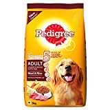 #9: Pedigree Adult Dog Food Meat & Rice, 3 kg Pack