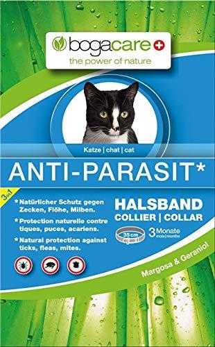 Bogacare UBO0425 Anti-Parasit Halsband Katze, 35 cm