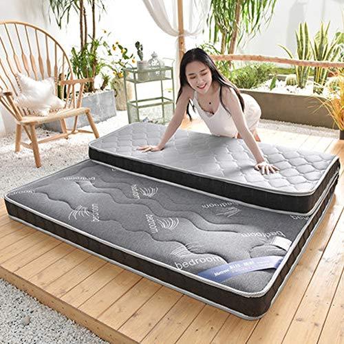SHIN Verdicken sie Zusammenklappbar Tatami Matte,Faltende matratze Boden Liege Abdeckung Stock-matratze Boden Geeignet für Yoga, Camping, Massage,Gray(10cm),150 * 190cm -
