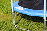 FA Sports Gartentrampolin mit Sicherheitsnetz Flyjump Monster II blau 366 cm - 5