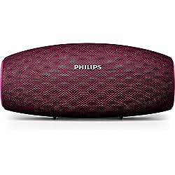 Philips Everplay BT6900P Enceinte Bluetooth Waterproof, Antichoc, avec Dragonne USB, 10h Autonomie, Rose