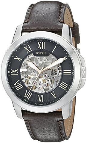 Fossil Herren-Uhren ME3100 (Herren Fossil Skelett)