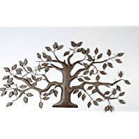 Black Country Metal Works Simple Tule Tree Wall Art - Mottled Bronze Finish