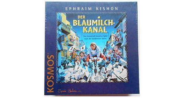 Ephraim Kishon Der Blaumilch-Kanal Kosmos Brettspiel