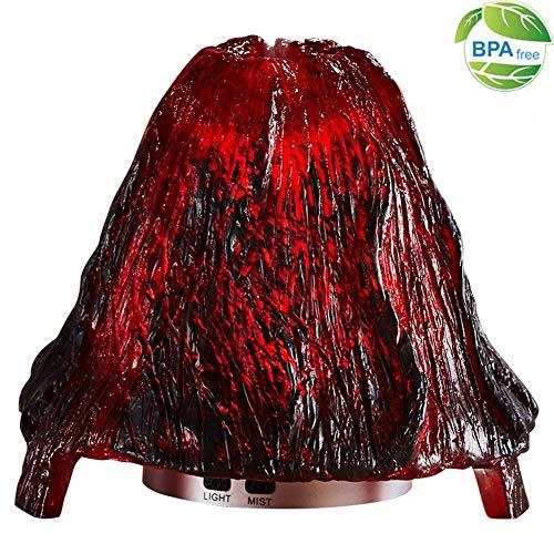 Preisvergleich Produktbild HPCZZ 100 ml Aromatherapie Öl Diffusor Home Art Decor Aroma Luftbefeuchter mit Farbwechsel LED Lampe für Schlafzimmer Wohnzimmer Büro Geschenk