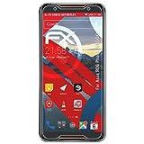 atFoliX ASUS ROG Phone ZS600KL Antichoque Película Protectora - 3 x FX-Shock-Antireflex sin...