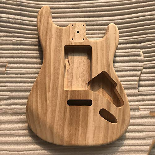Hongdett Unfinished DIY Guitar Body Maple Body For Fender ST Style Guitar