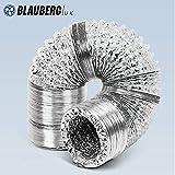 Conducto Flexible para Ventilación de Aluminio Dúctil (5 Metros) 100 mm/4
