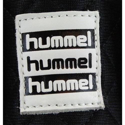 Hummel Miss Stadil Quilted High femmes Baskets noir blanc
