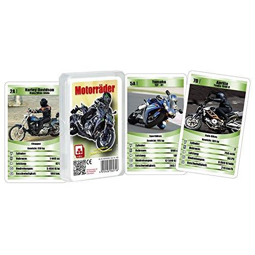 Quartett Motorräder - Nürnberger Spielkartenverlag 05619910104
