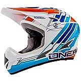 O'Neal Backflip Fidlock DH Helm Evo PINNER Blau Downhill MTB Fahrrad Helm367, 0500P-10, Größe X-Large (61-62 cm)