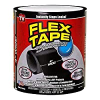 Flex Tape Black Strong Rubberized Waterproof Seal Tape AS SEEN ON TV