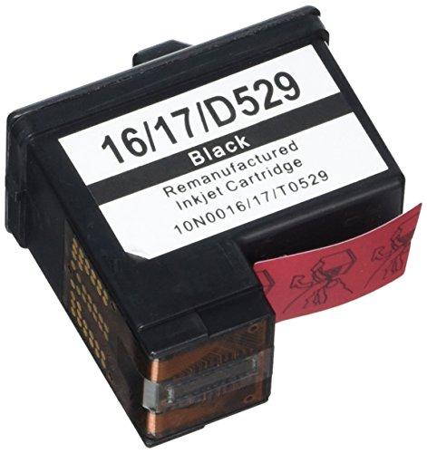 Prestige Cartridge No. 16 4er Pack Druckerpatronen für Lexmark i3 X1100 X1150 X1180 X1240 X1250 X1270 X1290 X2230 X2250 X74 X75 Z13 Z23 Z24 Z25 Z33 Z34 Z515 Z602 Z605 Z640 Compaq IJ650 IJ652 schwarz -