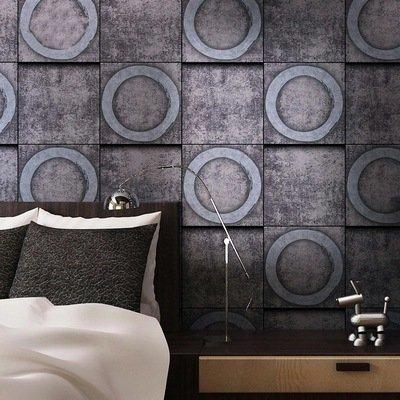 BTJC Piastra metallica retrò stile LOFT eoliche industriali wallpaper sesso tema bar ristorante Café parete , 151401