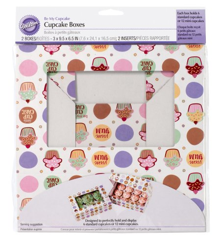 Wilton 415-129 - Cajas Mi Cupcake
