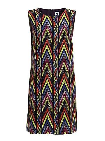 Missoni Damen Id0va0201j5759o Multicolour Seide Kleid (Missoni Multi Color)