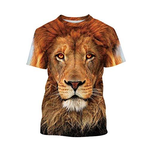squarex ® Jungen Sommer 3D Print Teen Cartoon T-Shirt Kinderkurzarm Tops Mädchen Casual Tops Casual Tops Bequeme Kleidung Polyester-jungen-clip