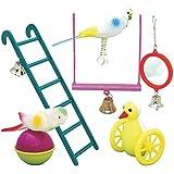 Plastic Bird Toy - MP (TP)(BIT/FYMIX) (Contains 6 Bird Toys)