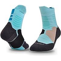 LIUMIAO 3 Pares De Calcetines De Baloncesto, Calcetines Deportivos, Hombres Y Mujeres Ejecutando Calcetines Transpirables,11