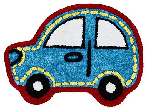 Catherine Lansfield de Voiture Tapis pour Enfant, Polyester, Bleu, 75x 0.5x 65cm