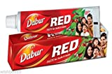 3x Dabur Red Toothpaste toothache Plaque fresh breath tooth 100g