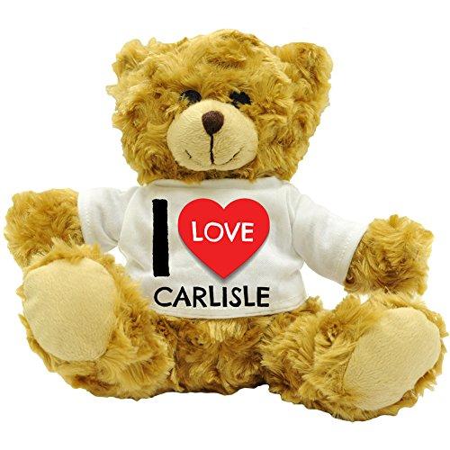 I Love (Herz) I Carlisle-PLÜSCH-BÄR-TEDDYBÄR-Teddy - - Carlisle Bar