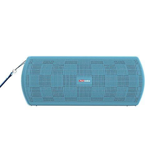 Portronics POR-780 PureSound Plus Portable Bluetooth 2.1 Wireless Stereo Speaker (Blue)