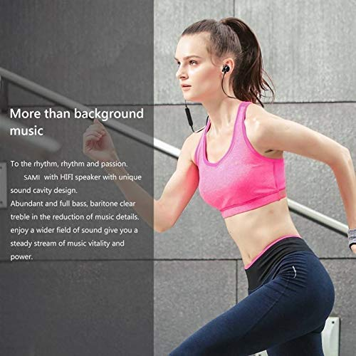 TISWAQ® Bluetooth Earphone Wireless Headphones for Mobile Phone Sports Stereo Jogger,Running,Gyming Bluetooth Headset Compatible with All Devices Image 5