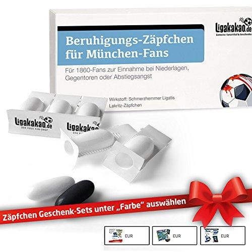Beruhigungs-Zäpfchen für München-Fans | Für Freunde von 1860 München-Fanartikeln,...