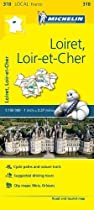 Loiret, Loir-et-Cher - Michelin Local Map 318