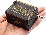 Funmo Pure Main-Classique Star Wars boîte à Musique Main-boîte à Musique en Bois Artisanat en Bois créatif Cadeaux