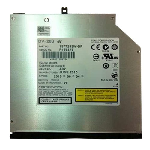 BRAND NEW TEAC DV-28S internal DVD Laufwerk mit für alle Notebooks mit 12,7mm SATA Laufwerkschacht z.B. HP Pavilion DV4 DV5 DV6 DV7, CompaQ 620 625 635 NW8440, Samsung R560, NP Serie, Acer Aspire, Extensa 5230E 7630G, TravelMate 7740G 5740Z, Toshiba Qosmio X300 Tecra M10, Satellite A660 L650D, Asus M N F G B X Serien, Fujitsu Siemens Esprimo Mobile, Sony Vaio VGN-BZ26M, VPC Serie.