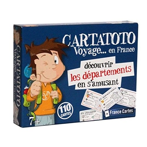 Cartatoto - Découvrir les Departements en S'Amusant