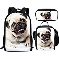 Nopersonality Blue Jeans Denim Cat Dog Backpack Children Kids Cute School Bags