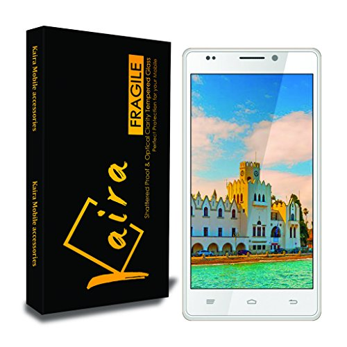 Kaira 0.3mm Pro+ Tempered Glass Screen Protector For Intex Aqua Power HD  available at amazon for Rs.119