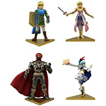 Takara Tomy The Legend of Zelda Hyrule Warriors Stand Figure Set of 4