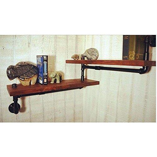 HHY-American Style/industrial Style/Jahrgang/kreative Bücherregal/Rohr Rack/Retro Wasserleitung Topfpflanzen stehen (American Bücherregal)