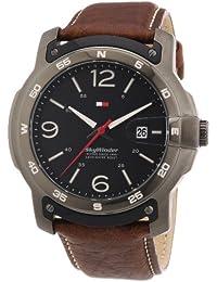 Tommy Hilfiger Watches Herren-Armbanduhr XL Analog Quarz Leder 1790897