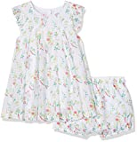 Absorba Robe + Culotte, Bébé Fille, (Blanc), 3 Ans (Taille Fabricant: 36M)