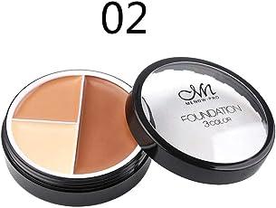 Hunputa Cosmetics Cream Contour And Highlighting Makeup Kit Contouring Foundation Concealer Palette B