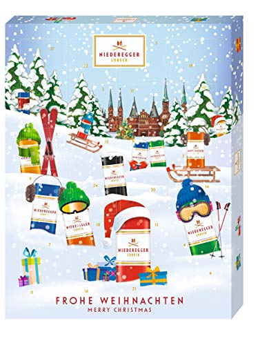 Niederegger Adventskalender Winter-Klassiker