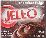 JELL-O CHOCOLATE FUDGE INSTANT PUDDING & PIE FILLING 110g AMERICAN JELLO